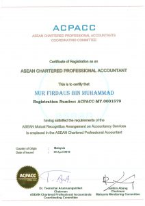 Sijil Asean Chartered Professional Accountant Millionmind Business Solutions Sdn Bhd